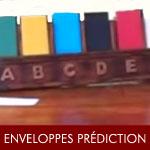 Envoloppes à prédiction