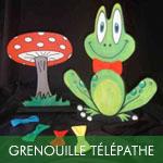 La grenouille magique télépathe
