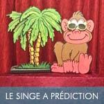 Le singe à prédiciton de lunettes